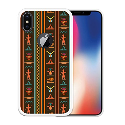 iPhone X Hülle, WoowCase Handyhülle Silikon für [ iPhone X ] Regenbogen Eule Handytasche Handy Cover Case Schutzhülle Flexible TPU - Transparent Housse Gel iPhone X Transparent D0219