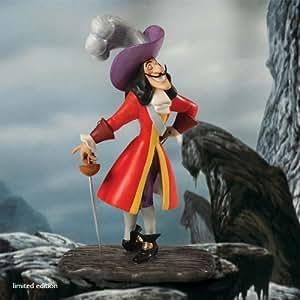 WDCC - Captain Hook (Capitaine Crochet) - Figurine Disney en Porcelaine issue du film Peter Pan