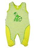 Makoma, Schmetterling Baby-Kids Baby Strampler Erstausstattung Unisex Größe 50-86 (86, Grün-Drachen)