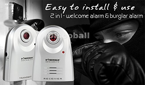 Discoball® Home Security IR Infr...