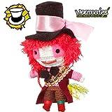 Voomates String Doll Voodoo-Puppen - handgemachte Sorgen-Püppchen Fingerpuppen - Die Handpuppen mit 81 Modelle - Mad Hatter (Alice im Wunderland)
