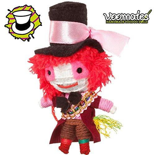 Voomates String Doll Voodoo-Puppen - handgemachte Sorgen-Püppchen Fingerpuppen - Die Handpuppen mit 81 Modelle - Mad Hatter (Alice im Wunderland) (Johnny Depp Mad Hatter)