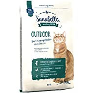 Sanabelle Outdoor Gluten-free, High Protein Complete Dry Food for Free-roaming Adult Cats With Natural Antioxidants and Increased Energy Content 10 kg