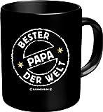 Rahmenlos® Kaffeebecher - Bester Papa der Welt - Fun Tasse Vatertag Vater