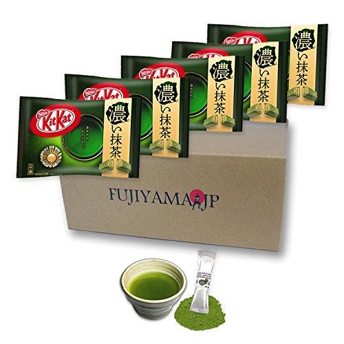 japanese-kit-kat-matcha-taste-rich-green-tea-strong-flavor-5-pack-and-matcha-drink-settotal-mini-55-