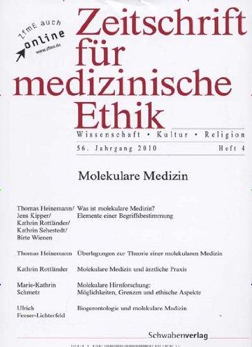 Zeitschrift für medizinische Ethik [Jahresabo] -