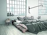 Kransen Design Vinylboden Arctic White KF98521 Vinyl-Klick-Designboden in Holzdielenoptik mit 0,3mm Nutzschicht - Paket a 2,56m²