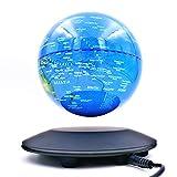 Global Lilu Magnetische Schweben Rotieren Beleuchten mit Berührung Sensor Globen Weltkugel Anti Gravitation Welt Karte für Kinder Office Tisch Dekoration