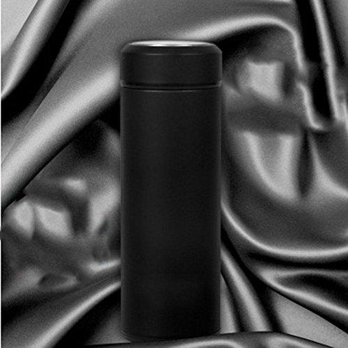 DONG Klasse/Glas/Edelstahl/Blase/Vakuum/Business/Auto/portable/Isolierung/Tasse , black , 300ml