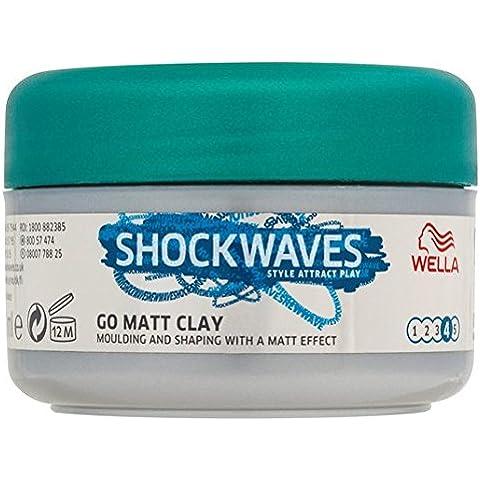 75ml ondas de choque efectos finales Pomada Matt arcilla
