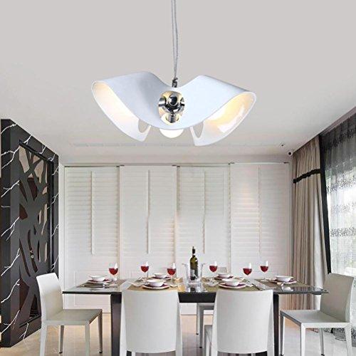 Moderne Task-lampe (OOFAY Kronleuchter Wohnzimmer Esszimmer Moderne kreative Harz Kronleuchter Lampen, White)