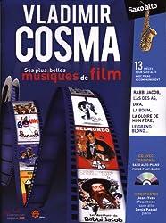 Vladimir Cosma ses plus belles musiques de film saxophone alto et Piano