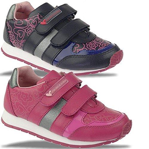 Agatha Ruiz de la Prada Mod.121973 Sneaker Halbschuh pink o.blau Gr.24-35 Blautöne