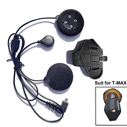 Microphone casque Headset et accessoires Clip pour Freedconn T-MAX Casque de moto Bluetooth Interphone Intercom