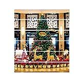 Tatis Zuhause Dekoration Weihnachtsdekoration Treppen Aufkleber DIY Steps Sticker Abnehmbare Treppen Sticker Home Christmas Decor Verfügbar in DREI Stilen 18 * 100cm