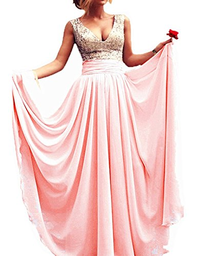 Babyonlinedress A Line Chiffon Party Prom Dress Floor-Length for sale  Delivered anywhere in UK