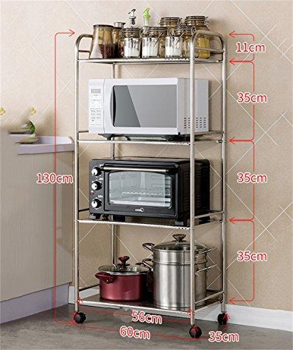CRS-ZBBZ Scaffalature per Cucina a microonde Forni a Rack Scaffali ...