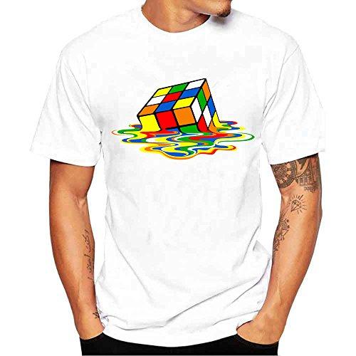 e73e9141f ZARLLE Camisa Hombre, Camisetas De ImpresióN De Tallas Grandes Verano  Camiseta De Manga Corta De