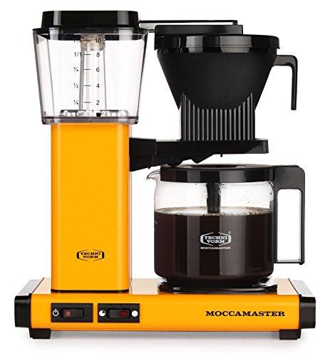 Moccamaster KBG 741 - AO-UK Filter-Kaffeemaschine hight 39 cm; width 32 cm, Depth 17 cm Yellow Pepper