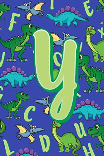 Y: Dinosaur Alphabet Practice Writing Book for Kids -