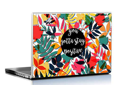 Seven Rays Stay Positive Laptop Skin