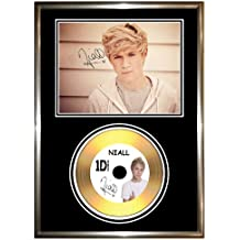 Niall Horan de One Direction – firmado enmarcado oro CD y foto
