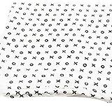 NaiseCore Baby Einschlagdecke, Kreuz Kreis Muster 122* 122cm, Weiche Neugeborene Arm Halt Snuggle Quilt Infant Wrap Decke, 1Pcs