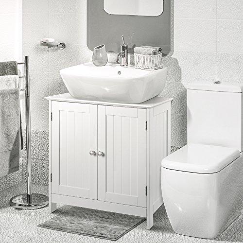 HOMFA Waschbeckenunterschrank Unterschrank – Waschtischunterschrank