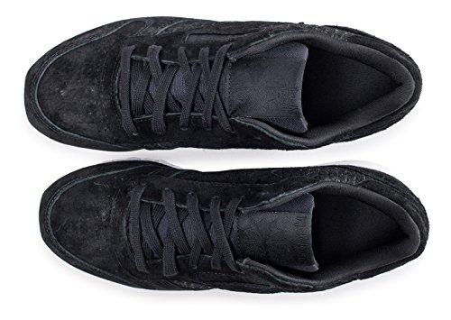 Reebok Classic Leather Woven Emb, Baskets Femme Noir (Black/White)
