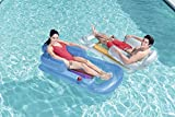 Best Pool Loungers - Happy Hot Tubs 61'' Inflatable Luxury Fashion Lounger Review