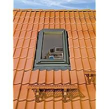 FAKRO Thermoisolations Ausstiegsfenster 78x118 FWL U3 /Öffnung rechts Eindeckrahmen