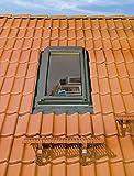 FAKRO Thermoisolations Ausstiegsfenster 66x78 FWL U3 + Eindeckrahmen (Öffnung rechts)