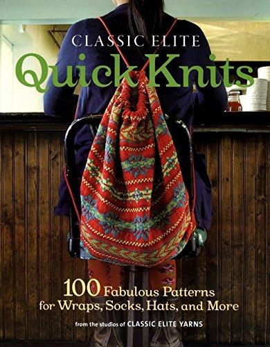 Unicornbooks Classic Elite Quick Knits -