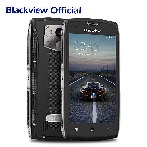 Outdoor Smartphone, Blackview BV7000 Handy Ohne Vertrag Android 7.0 MT6737T Ouad Core 2GB RAM 16GB ROM, 5.0 Zoll IP68 Wasserdichte / Stoßfest / Staubdicht, 4G Dual SIM Dual Standby