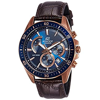 Casio Edifice Analog Blue Dial Men's Watch – EFR-552GL-2AVUDF (EX358)