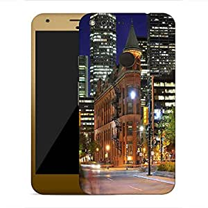 Snoogg Street Lamp Designer Protective Phone Back Case Cover For Google Pixel XL
