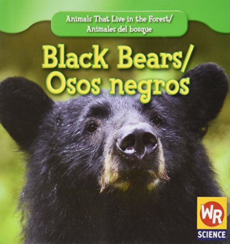 Black Bears/ Osos Negros (Animals That Live in the Forest/Animales Del Bosque) por JoAnn Early Macken