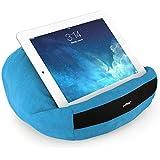 padRelax Oreiller souple offre un confort d'utilisation prolongée de votre iPad, lecteur d'ebook, et tablette (bleu clair)