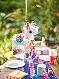 Talking Tables Mix Boho Llama Pinata, Carta, Multicolore, 18x 8x 28cm