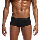 Dorical Herren Klassische Einfarbig Einfarbig Unterwäsche Boxer Briefs Shorts Beutel Ultra-dünne Unterhose Abstand