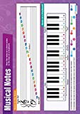 Musical Notes |Music Educational Wall Chart/Poster in high gloss paper (A1 840mm x 584mm)