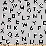 Unbekannt ARTCO Prints Buchstaben, ABC, Weiß/Schwarz