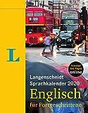 Langenscheidt Sprachkalender 2020 Englisch für Fortgeschrittene: Abreißkalender -