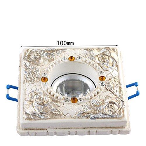 arten-Lichter runde Led1W Decke Decke-Decke Wohnzimmer Energiesparende Bull-eye Lampe (Bull Outfit)