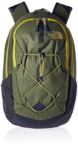 The North Face Jester - Mochila unisex, color verde, talla única