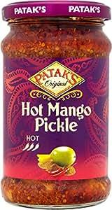 Pataks - Hot Mango Pickle - 283g (Case of 6)