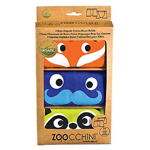 Zoocchini Set 3Boxershorts für Jungen orange 4-5Jahre