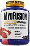 Gaspari Nutrition Myofusion Advanced Protein, Strawberries and Cream, 4 Pound
