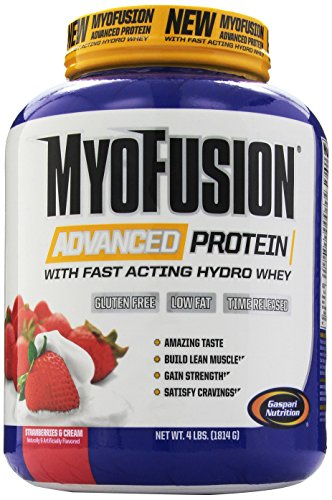 Gaspari Nutrition - Myofusion Advanced 4Lb Strawberry Cream - 51lOy8YzDNL