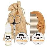 Beard Grooming Starter Kit | Vanilla & Mango | Beard Comb & Beard